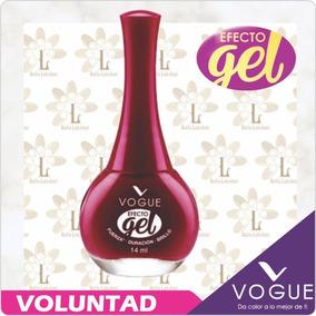 Uñas Esmalte Gel Vogue Dura 10 Dias