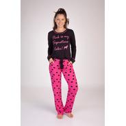 Pijama Poá C/bolso Longo Viscolycra - Ref. 215160
