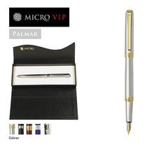 Lapicera Micro Vip Palmar Oferta 20 U. + Estuches Y Bolsas