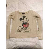 Buzo 47 Street Mickey Mouse Brilloso