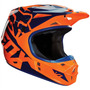 Capacete Fox V1 Race 16 Laranja/azul 61/62 Rs1