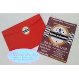 60 Convites Boteco Com Envelope