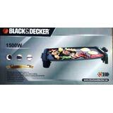 Parrillera Plancha Electrica Black& Decker Original, De Lujo
