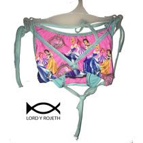 Vestido De Baño Bikini Infantil Niña Princesas Disney