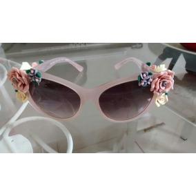 8803f5f7d622a Oculosde Sol Feminino Dolce Gabbana Made In Italy De - Óculos no ...