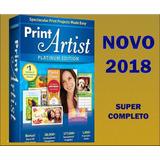 Print Artist Platinum 24 - Banners, Cartões, Panfletos 2018