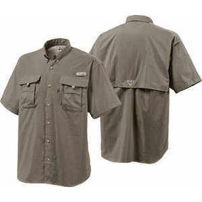 Camisa Columbia De Hombre Camping Supervivencia
