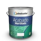 Pintura Esmalte Martillado Negro Quimicolor 1/4 Galon