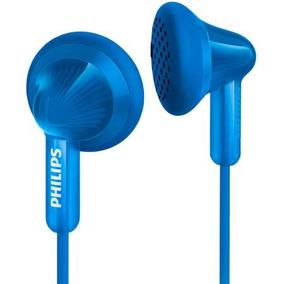 Fone De Ouvido Intra Auricular Philips She3010 Azul