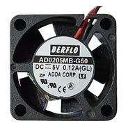 Cooler Micro Ventilador 25x25x10mm 5v 10.000rpm Rolamento Duplo