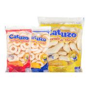 Kit Biscoito De Polvilho Sabores Catuzo - Cx/14 Un
