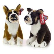 Peluches Perro Boxer Sentado 28 Cm. Animales Phi Phi Toys