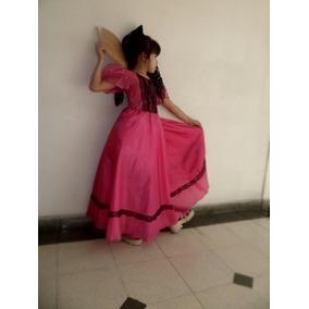Vestido De Dama Antigua Para Niña De 4 A 8 Ños