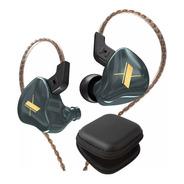 Kz Edx Audifonos Sin Micro + Estuche In Ear Negro