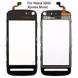 Tela Touch Nokia 5800 5230 N5800 V5230 Preto