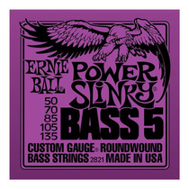 Ernie Ball 5 Cuerdas Bajo Eléctrico Power Slinky Bass String