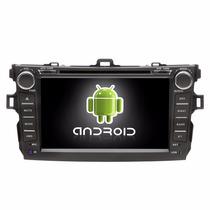 Central Multimídia Corolla Android 6.0 2009-2014 Wifi Waze