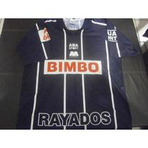 Jersey Rayados Del Monterrey T-l Aba Sport De Epoca
