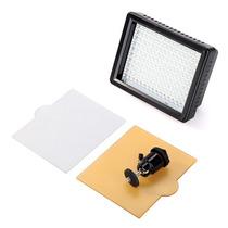 Iluminador 160 Leds Potente Para Filmagens E Fotos Dsrl Hd