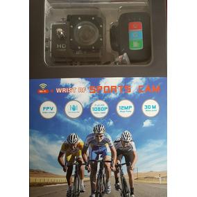 Câmera Esportiva Sport Cam Wifi Full Hd 1080p C/ Control Rem