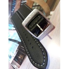 Pulseira Couro P/ Relógios Locman - 22mm - Preta