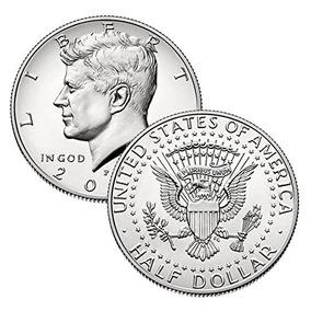 2007 P, D Kennedy Juego De Monedas De Medio Dólar 2 Uncircu