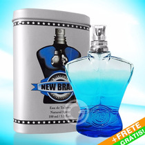 Perfume New Brand World Champion Blue Edt 100ml Frete Grátis