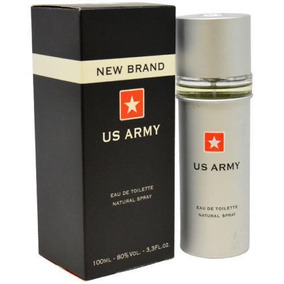 Colonia Us Army New Brand De 100ml(empaque Sellado)