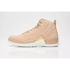 Tênis Nike Air Jordan 12 Wmns Vachetta Tan 1169