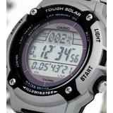 Reloj Casio Tough Solar Digital 120laps Wr100m Gtia Oficial