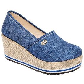 Zapato Casual Dama Jacky Hilton Mezclilla U71975 Originales