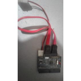 Adaptador P/ Usar Dispositivos Sata En Controladora Ide