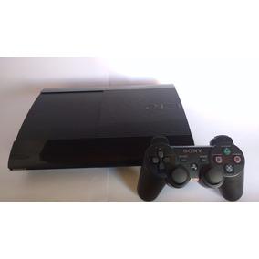 Ps3 Playstation 3 Super Slim + Controle + 1 Jogo Original
