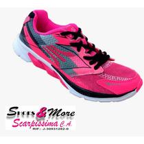 Zapatos Para Dama Apolo Ad1516 Fucsia