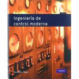 Libro Ingenieria De Control Moderna / Ogata / Pearson