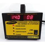Carregador Inteligente Bateria 12v 10ah - Automático