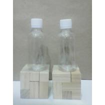 Botella Envase Pet 120 Ml Tapa Normal Transparente