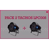 Pack 2 Tachos Led Proton Original Big Dipper Lpc008 54x1.5w.