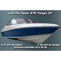 Lancha Open Deportiva Familiar Pesca 470 Nueva A Estrenar!