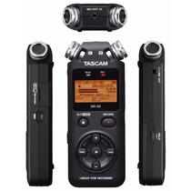 Tascam Dr05 Dr-05 Gravador De Áudio Voz + Cartão De Memória