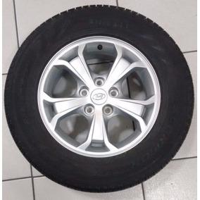 Jogo Rodas Hyundai Tucson Aro 16 5x114 Com Pneus
