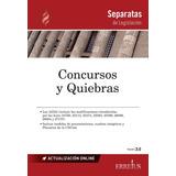 Separata De Concursos Y Quiebras - Erreius