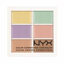 Paleta De Corretivo Nyx Correct Concealer Colorido Original