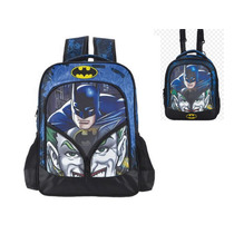 Kit Mochila M + Lancheira Batman Mind Games Xeryus + Brinde