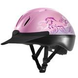 Casco Troxel Sport Schooling Riding Helmet Pink Nuevo