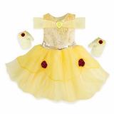 Vestido Belle Bela E A Fera Baby Disney Store 18/24 Meses