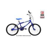 Bicicleta Aro 20 Cairu Freest Super Max Bic/azul
