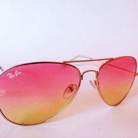 Lentes Ray Ban Color Rosa Imitacion