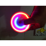 1 Spinners Fidget Led Antiestres Spiner Envio Gratis