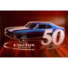 Souvenirs Hombre Cumple 18 50 40 Años Auto Chevy